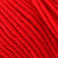 Lang Yarns Red Lipstick Merino 120 Superwash Yarn (3 - Light)