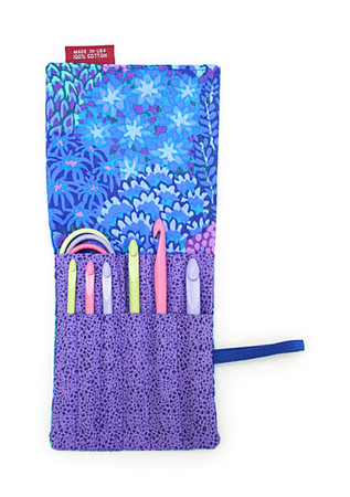 Denise Knitting & Crochet Blue & Purple Denise2Go Crochet Set