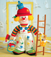 Jean Greenhowe Designs Knitted Clowns (24 Pages)