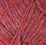 Lopi Ruby Red Heather Álafosslopi Yarn (5 - Bulky)