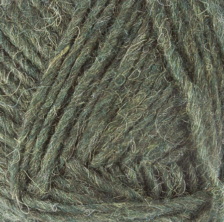Lopi Pine Green Heather Léttlopi Yarn (4 - Medium)