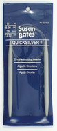 "Susan Bates Quicksilver 29"" Circular Knitting Needle (Size US  11)"