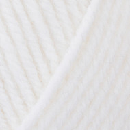 Red Heart White Comfort Chunky Yarn (5 - Bulky)
