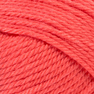 Red Heart Coral Soft Yarn - Small Ball (4 - Medium)