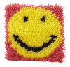 "WonderArt Smile 8"" x 8"" Latch Hook Kit"