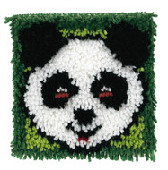 "WonderArt Panda 8"" x 8"" Latch Hook Kit"