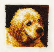 "WonderArt Puppy Love 12"" x 12"" Latch Hook Kit"