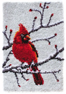 "WonderArt Cardinal 20"" x 30"" Classic Latch Hook Kit"