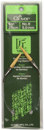 "Clover Tools Takumi Bamboo 9"" Circular Knitting Needle (Size US 8 - 5 mm)"