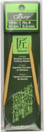 "Clover Tools Takumi Bamboo 16"" Circular Knitting Needle (Size US 8 - 5 mm)"