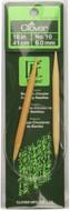"Clover Tools Takumi Bamboo 16"" Circular Knitting Needle (Size US 10 - 6 mm)"