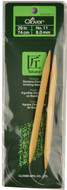 "Clover Tools Takumi Bamboo 29"" Circular Knitting Needle (Size US 11 - 8 mm)"