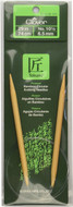 "Clover Tools Takumi Bamboo 29"" Circular Knitting Needle (Size US 10.5 - 6.5 mm)"