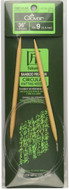 "Clover Tools Takumi Bamboo 36"" Circular Knitting Needle (Size US 9 - 5.5 mm)"