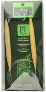 "Clover Tools Takumi Bamboo 36"" Circular Knitting Needle (Size US 17 - 12.75 mm)"