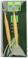 "Clover Tools Takumi Bamboo 36"" Circular Knitting Needle (Size US 19 - 15 mm)"