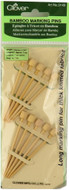 Clover Tools Bamboo Marking Pins
