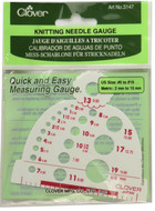 Clover Tools Knitting Needle Gauge