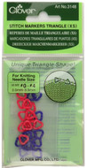 Clover Tools 22-Pack Triangle Stitch Markers (Extra Small)