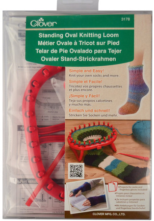 Clover Tools Standing Oval Knitting Loom