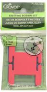 Clover Tools 6-Pack Knitting Bobbins