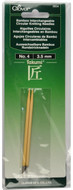 Clover Tools Takumi Bamboo Interchangeable Circular Knitting Needles (Size US 4 - 3.5 mm)