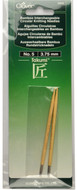 Clover Tools Takumi Bamboo Interchangeable Circular Knitting Needles (Size US 5 - 3.75 mm)