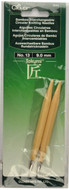 Clover Tools Takumi Bamboo Interchangeable Circular Knitting Needles (Size US 13 - 9 mm)