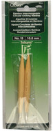 Clover Tools Takumi Bamboo Interchangeable Circular Knitting Needles (Size US 15 - 10 mm)