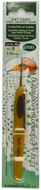 Clover Tools Soft Touch Steel Crochet Hook (No. 8 - 0.9 mm)
