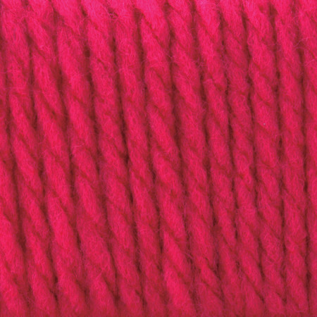 Bernat Hot Pink Softee Chunky Yarn (6 - Super Bulky)
