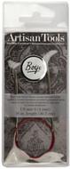 "Boye Artisan Tools 16"" Nickel-Plated Circular Knitting Needle (Size US 6 - 4 mm)"