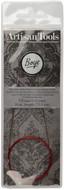 "Boye Artisan Tools 29"" Nickel-Plated Circular Knitting Needle (Size US 0 - 2 mm)"