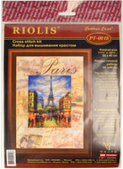 Riolis Cross Stitch Cities Of The World - Paris Cross Stitch Kit