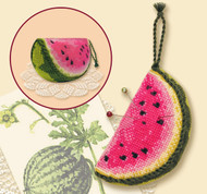 Riolis Cross Stitch Pincushion Watermelon Cross Stitch Kit