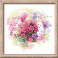 Riolis Cross Stitch Dreaming Pink Cross Stitch Kit