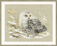 Riolis Cross Stitch White Owl Cross Stitch Kit