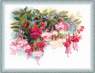 Riolis Cross Stitch Fuchsia Cross Stitch Kit