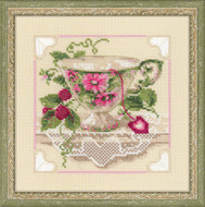 Riolis Cross Stitch Raspberry Tea Cross Stitch Kit