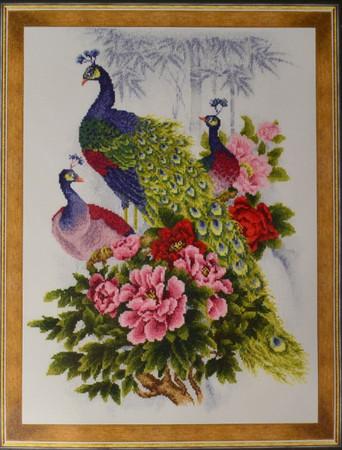 Riolis Cross Stitch Peacocks Cross Stitch Kit