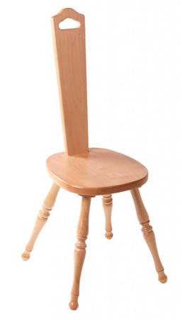 Ashford Spinning Chair - Natural Finish