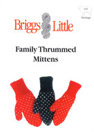 Family Thrummed Mittens Briggs & Little Pattern