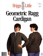 Geometric Ragg Cardigan For Her Briggs & Little Pattern