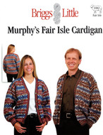 Murphy's Fair Isle Cardigan Briggs & Little Pattern
