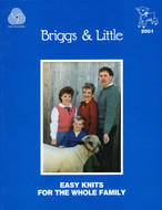 Easy Knits For The Whole Family Briggs & Little Pattern