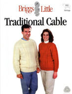 Traditional Cable Briggs & Little Pattern