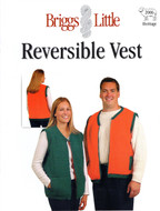 Reversible Vest Briggs & Little Pattern