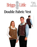 Double Fabric Vest Briggs & Little Pattern