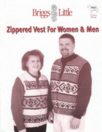 Zippered Vest Briggs & Little Pattern