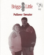 Pullover Sweater Briggs & Little Pattern